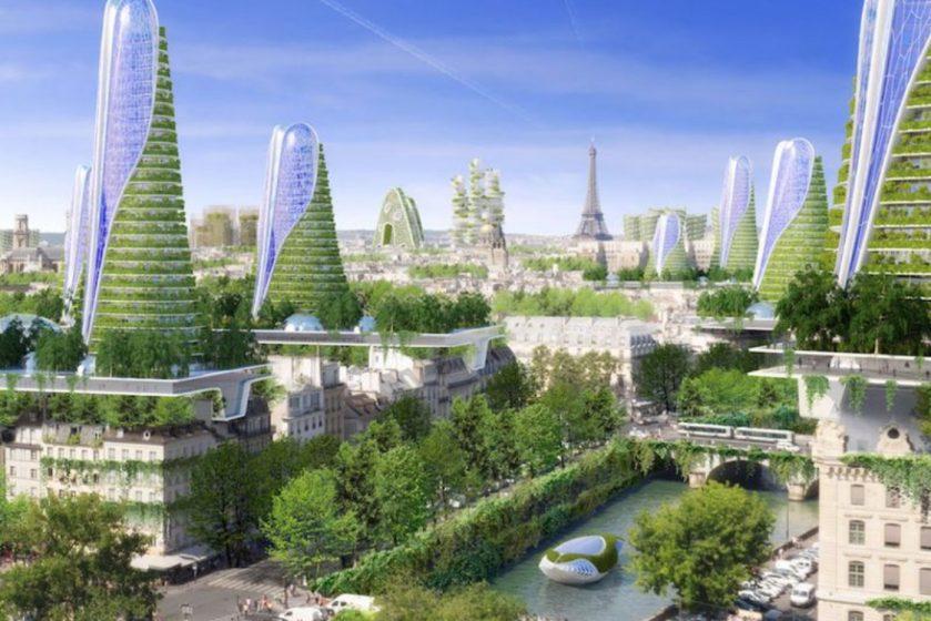 A smart City Illustration